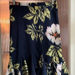 Eva Franco Flounced Skirt